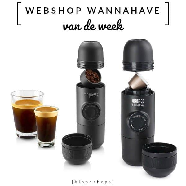 Minipresso: espresso on-the-go [Webshop Wannahave van de Week]
