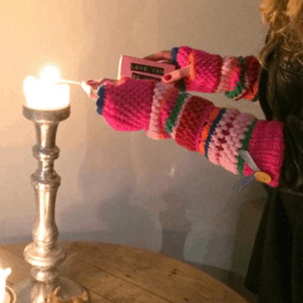 topless longsleeve handschoenen - Bonna Dotta - Hippeshops