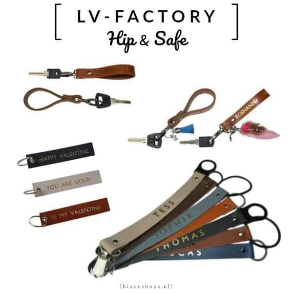 LV-FACTORY – stoere speenkoorden en sleutelhangers