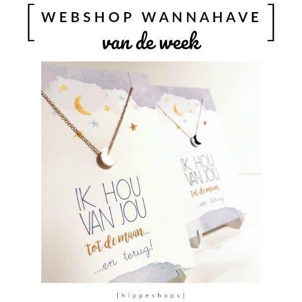 Kaart met sieraad [Webshop Wannahave van de Week]