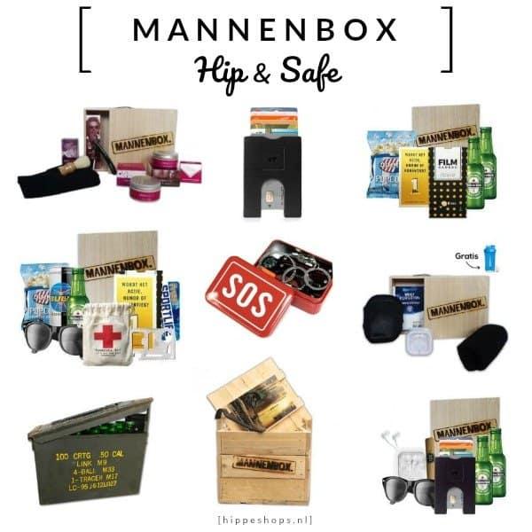 MANNENBOX – cadeaus voor hem in een unieke verpakking