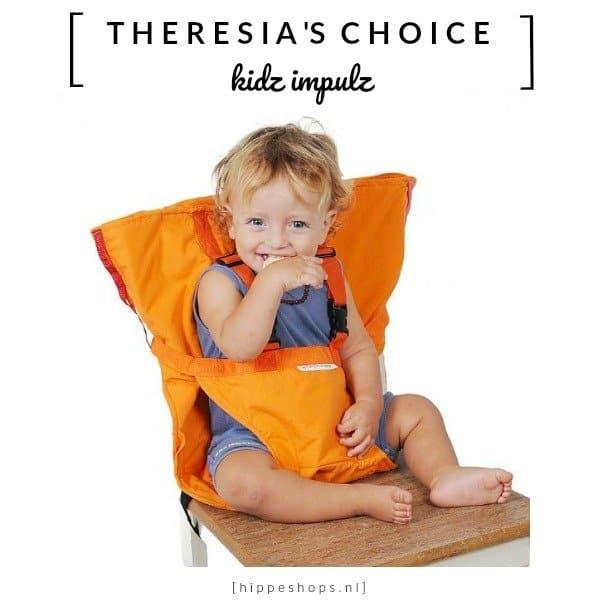 Sack 'n Seat: de handige opvouwbare kinderstoel