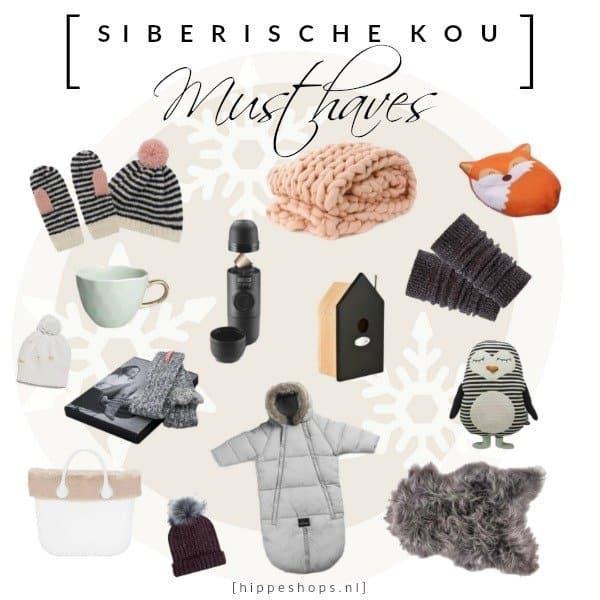 Versla de Siberische kou met deze musthaves die je warm houden