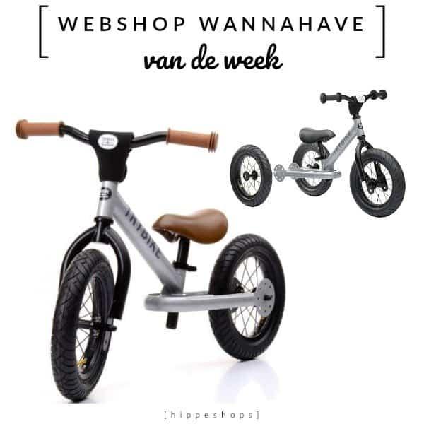 Trybike loopfiets [Webshop Wannahave van de Week]