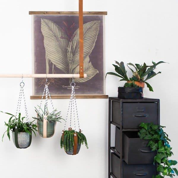 Plantenhanger leer - Handlesandmore - Hippeshops