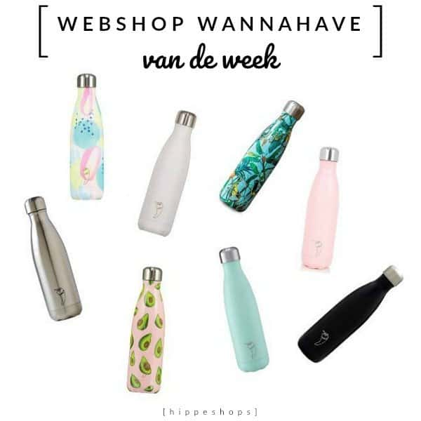Chilly's Bottles, de hippe drinkfles voor onderweg [Webshop Wannahave van de Week]