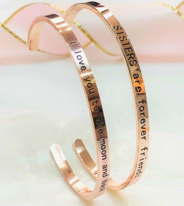 Bangle set armbanden (2 stuks) €28,90 voor jou en je vriendin