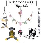 KIDDYCOLORS - Hippe Naamslingers & Kekke Kinderkamer Decoratie