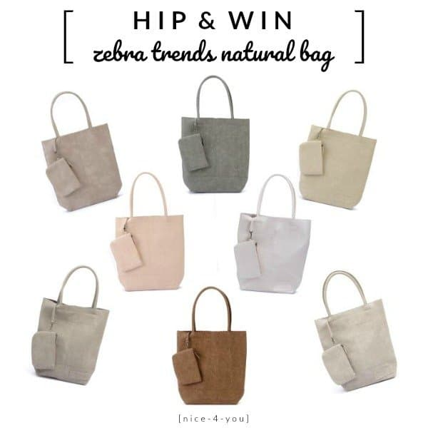 WIN: Zebra Trends Natural Bag twv €28 van Nice-4-You