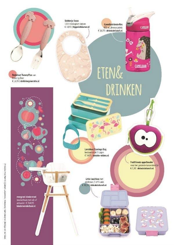 Webshopmagazine Eten & Drinken: musthaves voor een gezellige maaltijd met kids