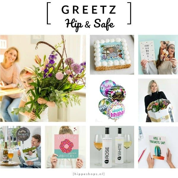 GREETZ - kaarten, bloemen en cadeaus thuisbezorgd