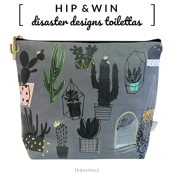 WIN: Urban Garden Toilettas van Disaster Designs (twv €26,95)