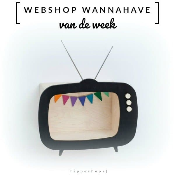 TV Shelf Teevee van Up Warsaw [Webshop Wannahave van de Week]