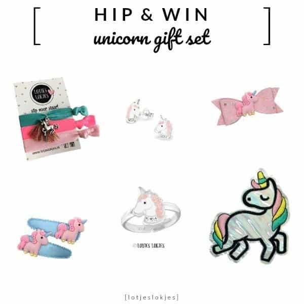 WIN: Unicorn Gift Set met Sieraden en Accessoires twv €42