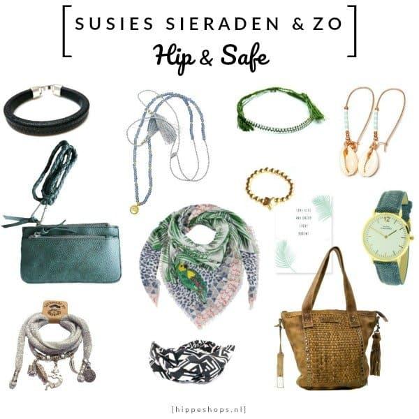 Susies Sieraden & Zo: armbanden, kettingen, oorbellen, tassen, sjaals