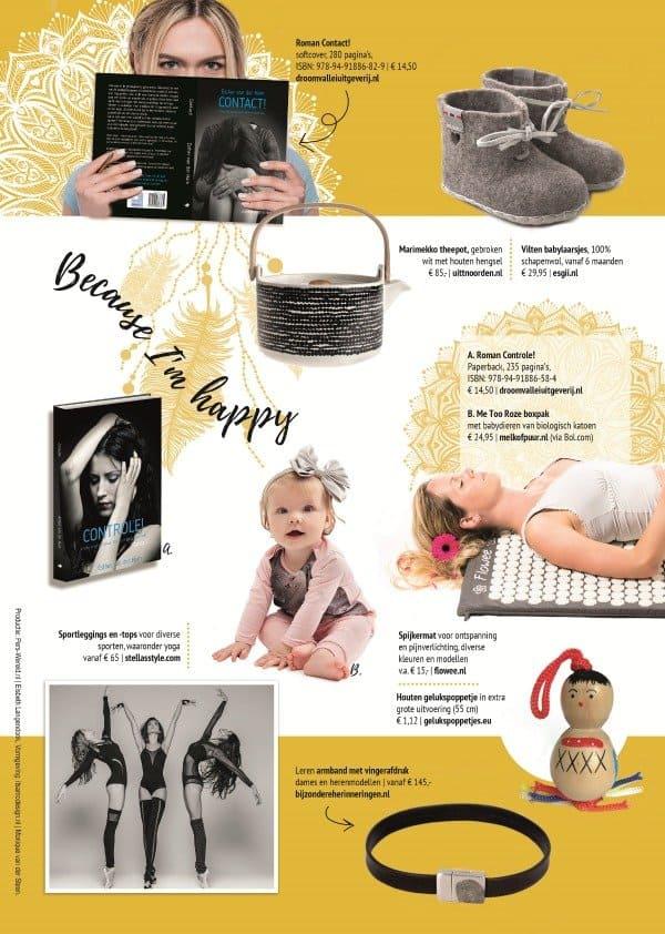 Webshopmagazine Happiness: online shopping waar je blij van wordt