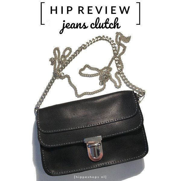 JEANS CLUTCH My Own: de hippe handsfree 7-in-1 fashion bag [review]