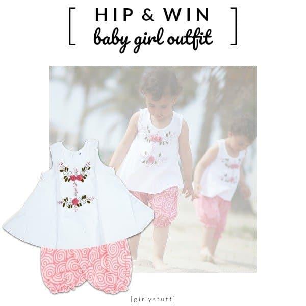 WIN: GirlyStuff outfit, voor hippe kleine meisjes