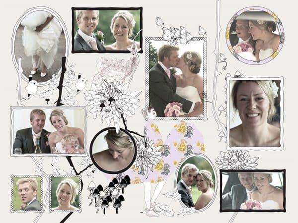 fotocollage huwelijk - easycollage - hippeshops