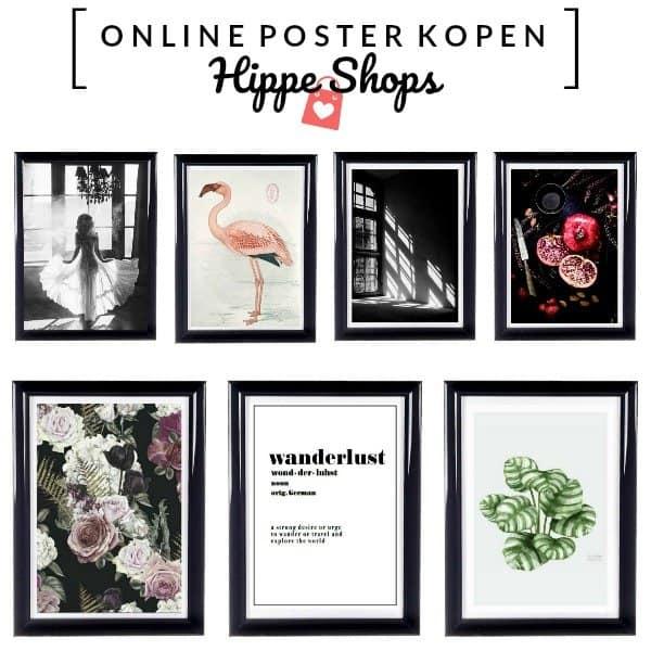 ONLINE POSTER KOPEN – hippe interieurposters volgens de laatste trends