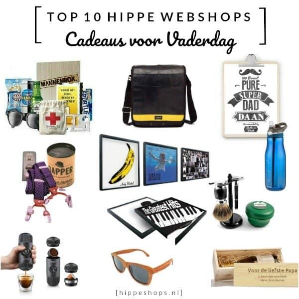 top 10 hippe webshops voor mannen met Vaderdag cadeaus