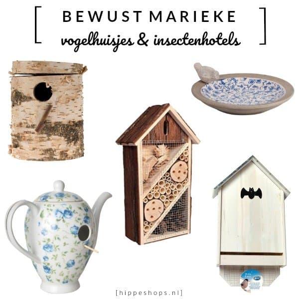 Maak je tuin diervriendelijk met de hippe musthaves van Vogelhuisjes.nl