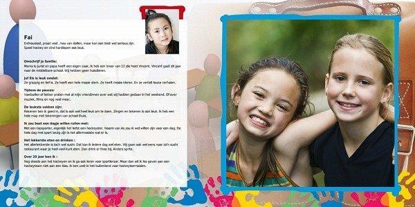Maak samen met alle kinderen een onvergetelijk vriendenboekje voor de juf of meester