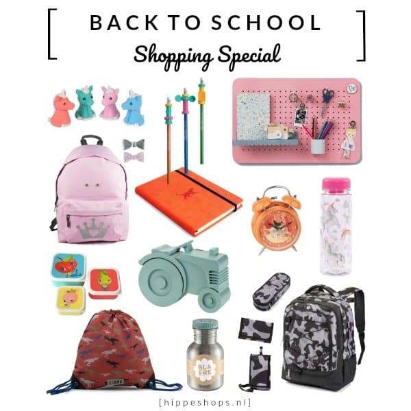 Back to School shopping special '18/'19: scoor de hipste schooltassen en coolste schoolspulletjes