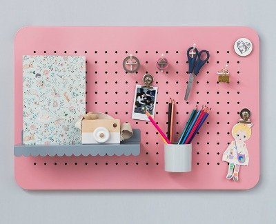 Back to School Shopping Special pegboard eina design