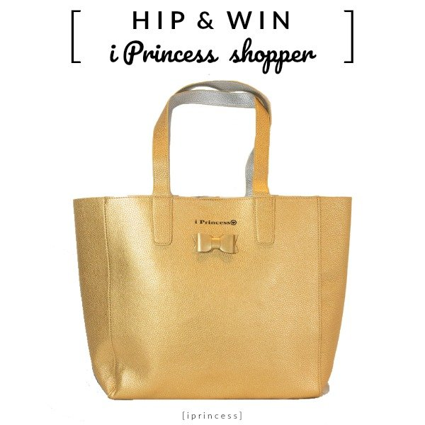 WIN: i Princess shopper metallic goud (t.w.v. €65)