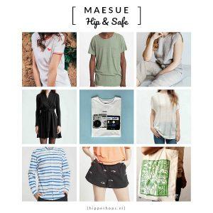 Mae Sue heeft een unieke selectie van duurzame kleding. Alle kledingstukken die we verkopen zijn op een eerlijke en ecologische wijze geproduceerd.
