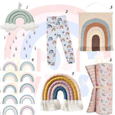Rainbow Shopping Special: de regenboog als trendsymbool voor vrede en diversiteit