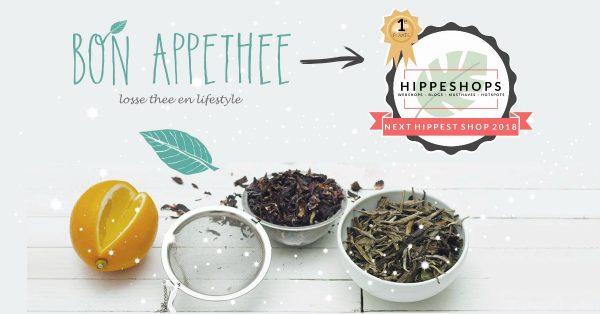 Bonappethee wint de Next Hippest Shop Webshopverkiezing van HippeShops.nl