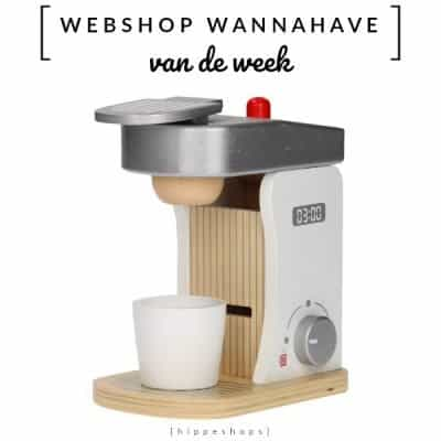 Houten Koffiezetapparaat [Webshop Wannahave van de Week]