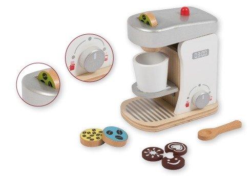 Houten Koffiezetapparaat Joueco van Sassefras Meisjes Speelgoed