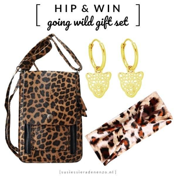 WIN: Going Wild cadeauset animal print tijger luipaard panter (twv €38)