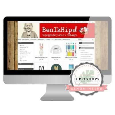 BenIkHip Genomineerd Next Hippest Shop 2018 Webshopverkiezing