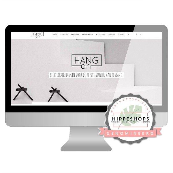 webshop HANGon genomineerd Next Hippest Shop 2018 Webshopverkiezing