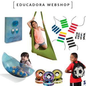 Educadora Webshop Verkoop en advisering van sen- sorische producten en speelgoed: kauwsieraden, verzwaring knuffels en therapeutische putty. Voor (hoog) gevoelige kinderen, of kinderen met autisme of ADHD.