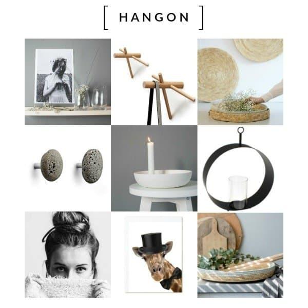 HANGon - hippe spullen aan je wand met een Scandinavische twist