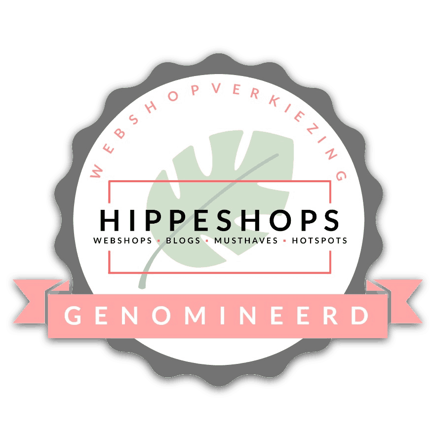 webshopverkiezing genomineerd next hippest Shop 2018