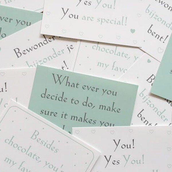 your secret friend setje kaarten quotes