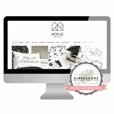 Hofje van Kieka Genomineerd Next Hippest Shop 2018 Webshopverkiezing