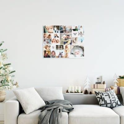 Je eigen fotocollage als uniek wandverhaal (twv €50) van EasyCollage