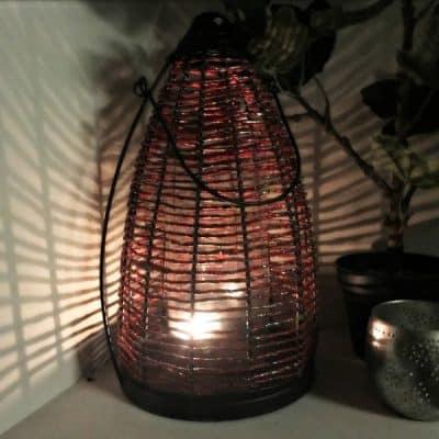 Oosters Windlicht Recycled (twv €25,95) van Merel in Wonderland