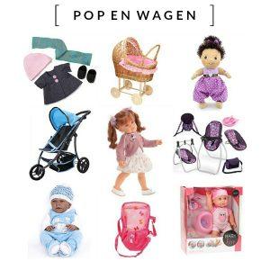 Poppenmoeders opgelet, bij webshop Pop-en-Wagen moet je voortaan zijn voor de mooiste poppen, poppenwagens, poppenkleertjes en de tofste accessoires. Bij dit hip & safe adresje vind je werkelijk alles voor jouw pop en wordt het spelen met poppen een ware belevenis.