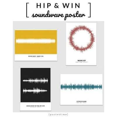 WIN: Soundwave Poster naar keuze (twv € 34)
