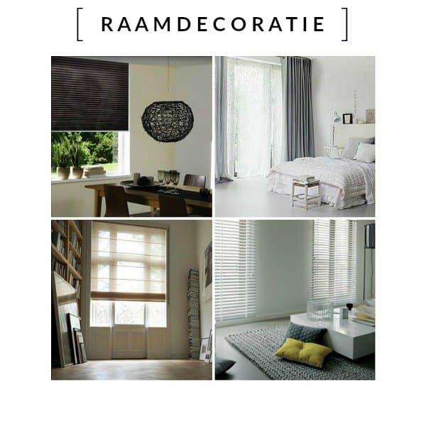 Raamdecoratie - de online shop voor maatwerk en standaard raamdecoratie