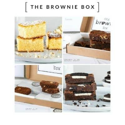 The Brownie Box – Het lekkerste cadeautje door je brievenbus