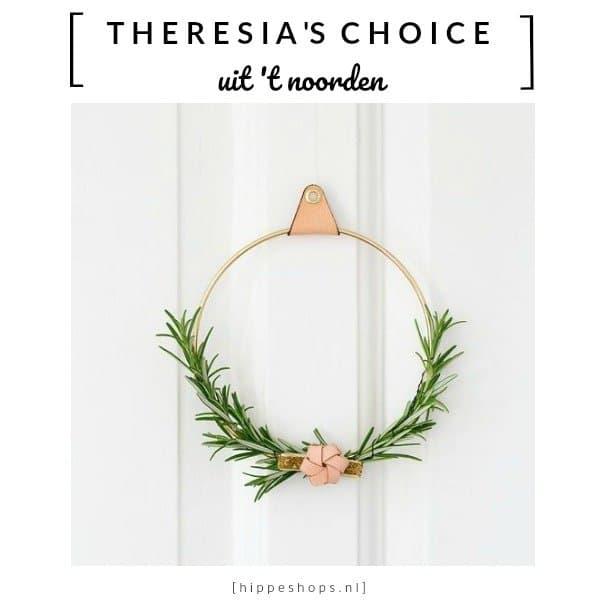 De Strups ring is functioneel en elegant als eyecatcher handdoekring in Scandinavisch wonen stijl. Ook super stijlvol als kerstkrans decoratie.